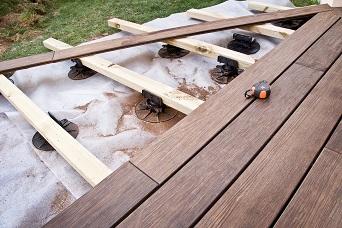 Plancher bois et fondation