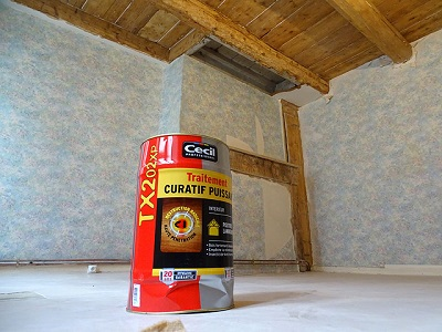 Traiter vos poutres lors d'une rénovation