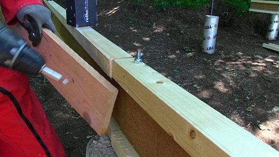 Etape 2 : Plancher et isolation sol