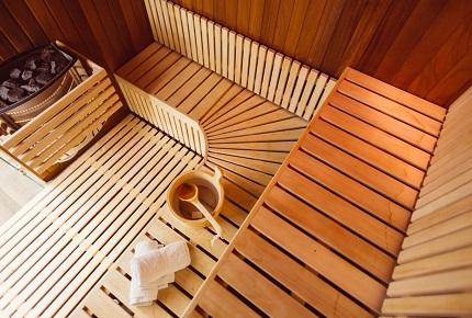 sauna%20domestique%20paint Comment construire son propre sauna ?