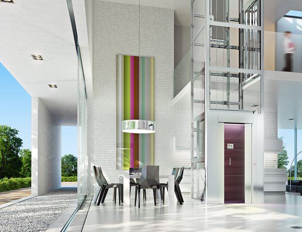 ascenseur particulier