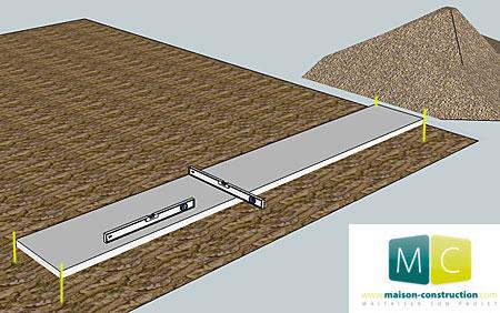 Montage mur parpaing