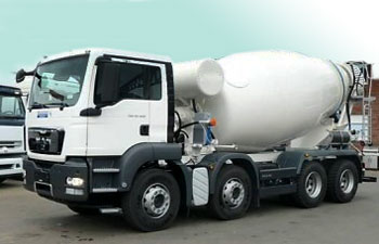 camion-toupie beton