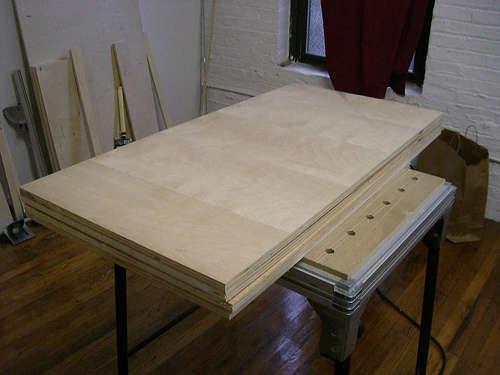 Fabriquer un bureau