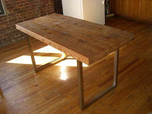 fabriquer-une-table