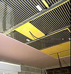 Le plafond chauffant