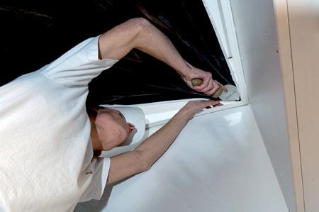 Pose plafond tendu