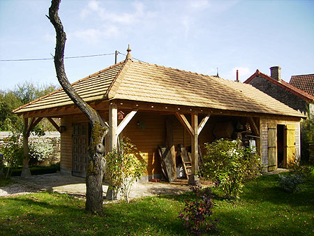 construire-garage-en-bois