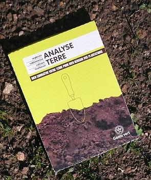 Analyse terre jardin
