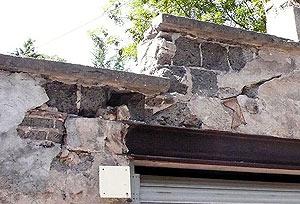 Un mur à rénover