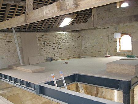 plancher-acier