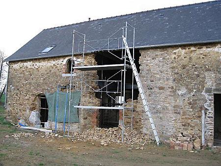 Rénovation moulin