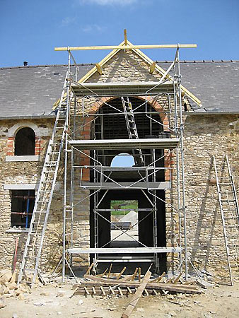 Rénovation moulin