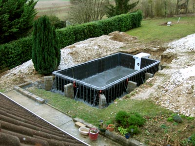 fabrication piscine