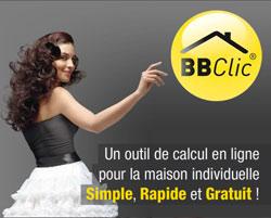 Calculette BBClic, maison béton