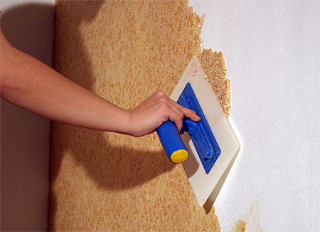 pose enduit mural coton