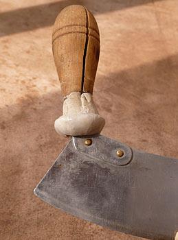 Sader, pâte réparation