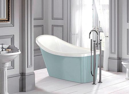 salle de bains, baignoire