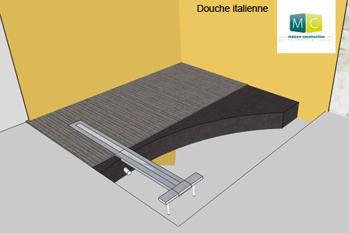 construction-douche-à-l-italienne