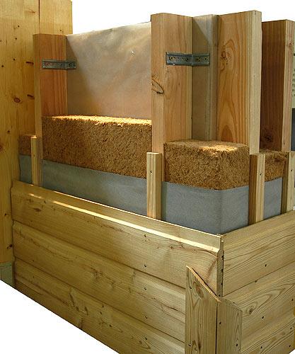 Ossature maison bois